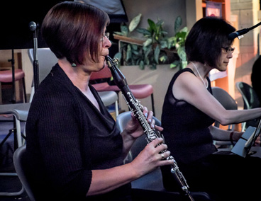 Cathy, clarinet