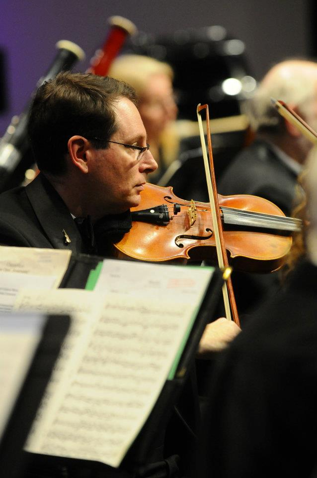 David, violin