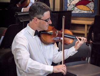 Barry, violin