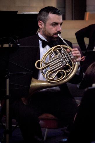 Chris, horn