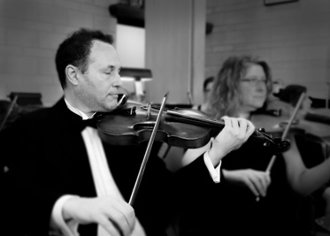 Mark, violin